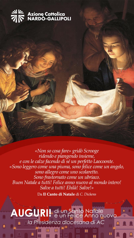 Auguri Di Un Santo Natale E Felice Anno Nuovo.Auguri Di Buon Natale E Felice Anno Nuovo Ac Nardo Gallipoli